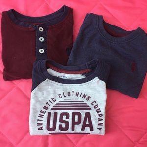 🍁10 for $25🍁U.S. Polo Assn. 3 Long Sleeve Tees
